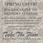15% discount on dance lessons in Banbury!