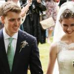 Euan Blair's wedding dance to Suzanne Ashman